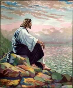 Jesus on Mountaintop