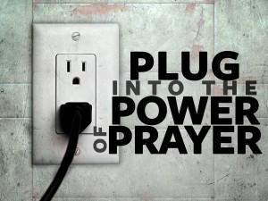 Plug In to Prayer