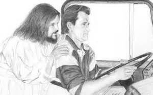 Jesus Driving Guy