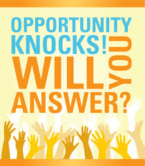 Answer Door of Opportunity?
