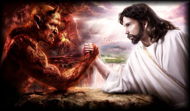 Devil verses Jesus