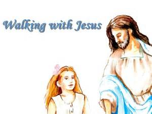 Girl with Jesus