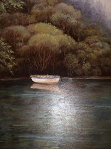 Office Painting of Boat