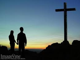 Couple at Cross
