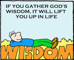 Gather GOd's WIsdom for a Lift