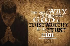 God is Trustworthy