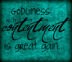 Great Gain in Contentment