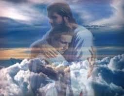 Image of God Hugging Son