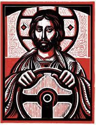 Jesus at the Wheel