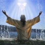Jesus in the Water