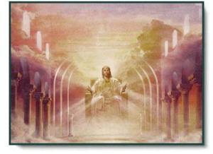 Jesus on Throne