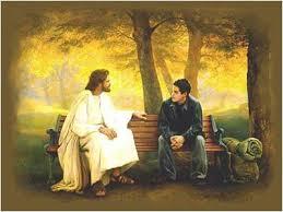 Jesus with Man