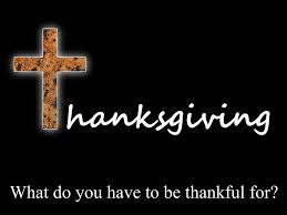 What Do You Have to Be Thankful For