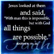 With God It Is Possible