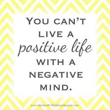 Can't Live Positive with Negative