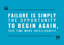 Failure is Simply Opportunity