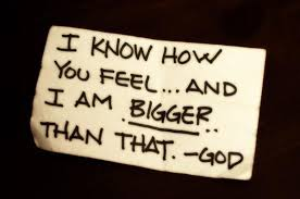 God Bigger than Fear