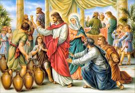 Jesus and Mary at Wedding