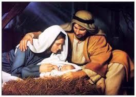 Mary Joseph and Baby