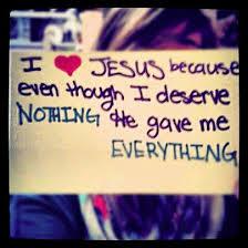 Jesus Gave Me Everything