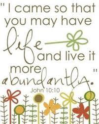 Jesus the Abundant Life