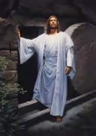 Face of Jesus Shining Through