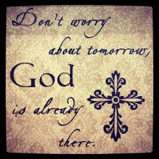 God Is at Tomorrow