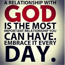 God Most Important Relationship