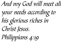 God Will Meet All Needs
