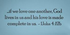 If We Love One Another