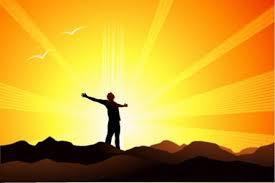 Light of God Shining