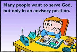 Many Want to Serve God in Advisory