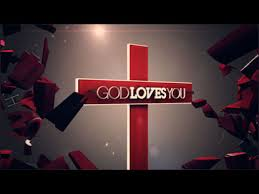 God Loves You Cross
