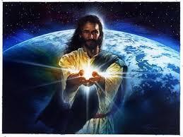 Jesus Holding Light