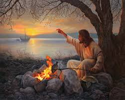 Jesus With Fire