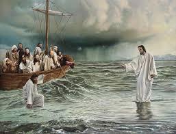 Peter Going to Jesus
