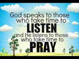 God Speaks to Those WHo Listen