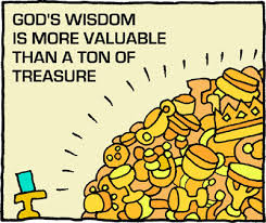 God's WIsdom More Valuable Than