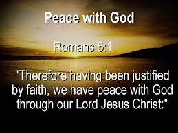 Have Peace with God