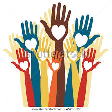 Colorful Hands of Love