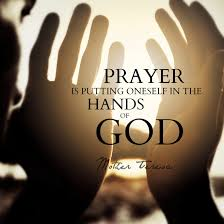 Prayer Puts Us in Hands of Father