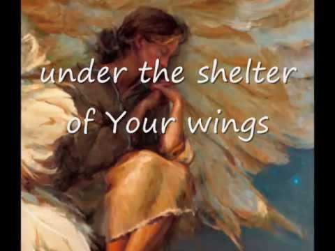 Woman Under Shelter of Wings