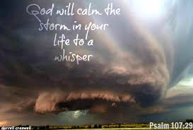 Father Calms the Storm