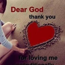 Dear God Thank YOu