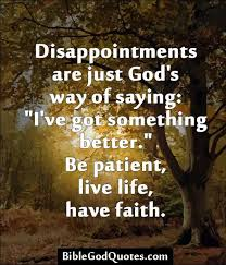 Disappointments Lead Divine