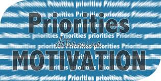 Priorities Determine Motivation