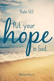 Put Hope in God