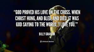 God Proved His Love