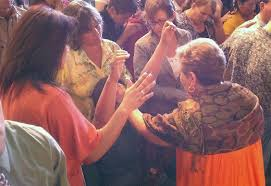 Women Praying for Others