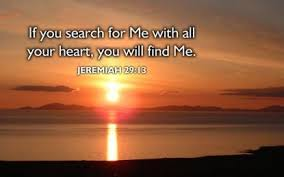 Search for Me with all your heart
